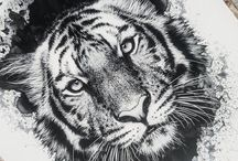 Tattoos tiger