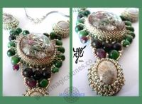 Orgonite pendants / Biżuteria orgonitowa