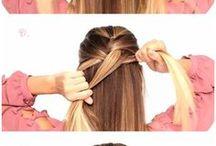 Frisuren anleitungen