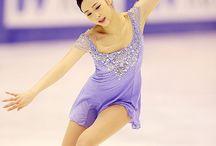 figure skaters(Yuna Kim)