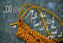 Knitting - BIND OFF