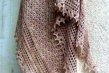 chal, ponchos y capas al crochet.