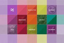 Webb, design och layout / by Sofia