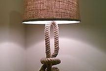 Nautical table lamp design