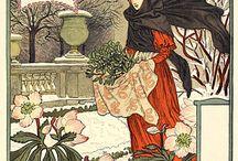Eugène Grasset / Artwork of Eugène Grasset (1845–1917) / Art Nouveau