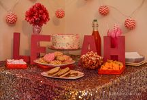 Pink Heart Birthday Party / by Mallery Schuplin