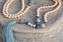 Beautiful Pearl Mala decorated with a tassel