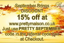 Pretty September - Autumn Sale