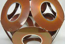 Hard Disk Platter Artworks by Jay