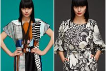 Marimekko / Finnish fashion brand Marimekko is the queen of mixing different prints, colours and shapes together in a cheerful yet stylish manner. Look inside!