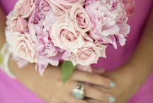 Wedding / Pink bouquets