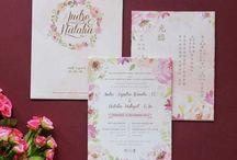 Undangan Pernikahan di Surabaya / Kumpulan foto inspirasi vendor undangan pernikahan di Surabaya