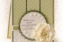 Stampin Up / All cards and projects were made with Stampin Up materials.