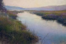 RICHARD MCKINLEY Pastel Artist / Learn how to paint with pastel from Richard McKinley, a best-selling author, an award-winning landscape artist and a Pastel Society of America Hall of Fame honoree. #pastel #painting #art