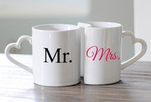 Mr & Mrs / by Jude's Vintage