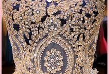Haute couture - fashion dresses