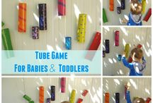 DIY games/toys for babies & toddlers / These are the toys that we have created for our babies and toddlers, they improve language & soft motor skills.