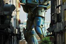 Gundam Instalation