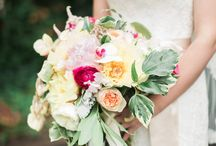 Wedding Bouquets / Bridal and Bridesmaid's Bouquets created by Molly Taylor and Co.