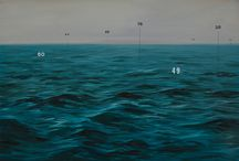 Oliver Jeffers | Measuring Land and Sea | Lazarides Rathbone / This November, Lazarides Rathbone Gallery welcomes back Brooklyn-based artist Oliver Jeffers with a new exhibition: Measuring Land and Sea. Oliver Jeffers continues his investigation into the philosophical impasse at which art and science often find themselves. - The exhibition runs from Friday 20th of November 2015 to Wednesday 23rd of December 2015.