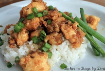 Asian dishes / by Jessica Redman Hamilton