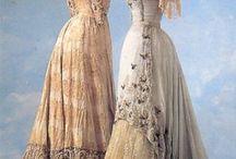 Costumes de 1900 (européens)