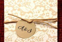 Inbjudningskort och tackkort