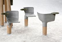 Street furniture / Mobilier urbain / by Roland Belote