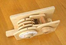 Trickkisten aus Holz