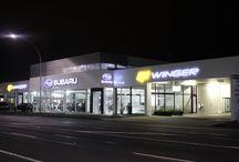 Car Sales Premises