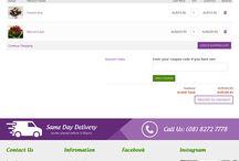 Pretty Petals- Magento ecommerce website
