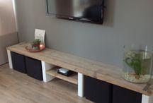 INTERIEUR_tv-meubel / Een mooi meubel rondom de tv