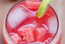 Summer Drinks / A collections refreshing drinks for hot summer.