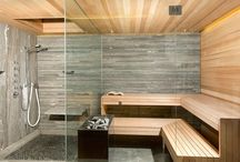 Sauna and jacuzzi room