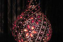 Tekvica, lampa