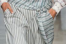 брюки блузка