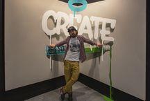 Creative World. Fair in Frankfurt, Germany.