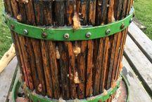 my work Old faithful press never fails. 2 demijohns of tom putt & #bramley #cider #cidermill #autumn #apple