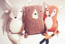 Stuffed/Handicraft Foxes