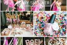 Sprinkle Theme Baby Shower