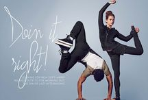 DOIN IT RIGHT / Looking for new soft ware? Relaxed outfits for working out. The spa or lazy afternoons.