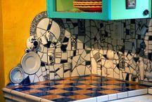 Shattered Dreams - Mosaics / by Pamela Kaiser