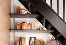 escalier rangement