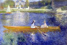 Painting. Pierre-Auguste Renoir