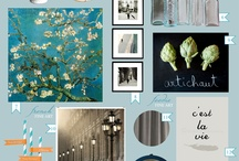 Style Boards | Kitchen / Inspiration for decorating your kitchen.  :)