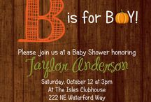 Boy baby shower / by Michelle Lee
