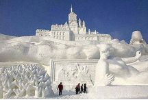 Incredible Ice Sculptures / Ice Sculpting