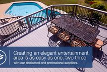 Decking / Beautiful and sturdy decking can add a touch of luxury to any outdoor area. Chat to the Home Ideas experts for the best option for your decking - we've got it all.