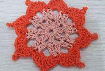 Coaster crochet