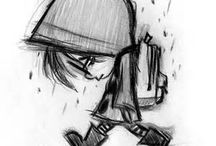 sad drawing